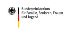 Logo des Bundesminiseriums für Familie, Senioren, Frauen und Jugend