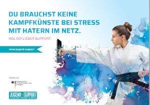 "Kampagnenmotiv ""Stress mit Hatern"""